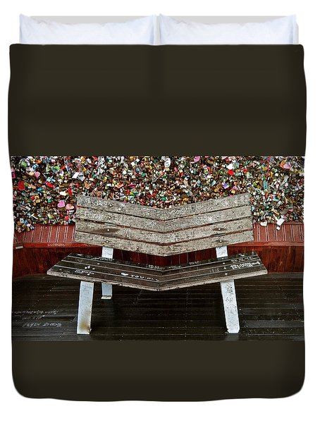 Duvet Cover featuring the photograph Locks Of Love 2 by Kume Bryant