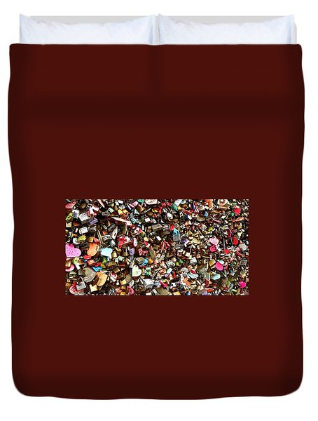 Duvet Cover featuring the photograph Locks Of Love by Kume Bryant