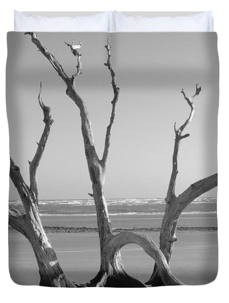 Lonesome Tree Duvet Cover by Melody Jones