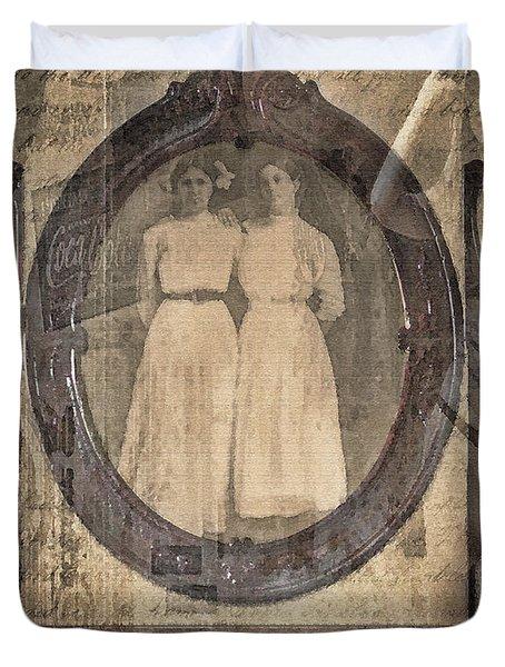 Long Ago Duvet Cover by Betty LaRue