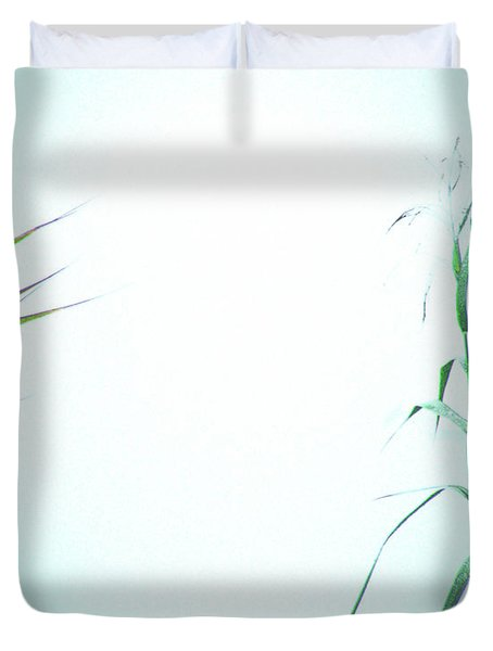 Duvet Cover featuring the photograph Look Of Fog by Lizi Beard-Ward