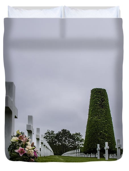 Lost Lives Duvet Cover