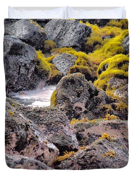 Low Tide Duvet Cover by Roger Mullenhour
