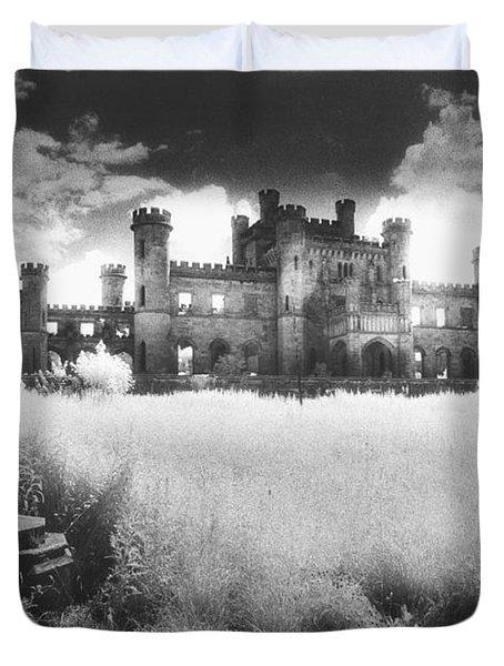Lowther Castle Duvet Cover by Simon Marsden