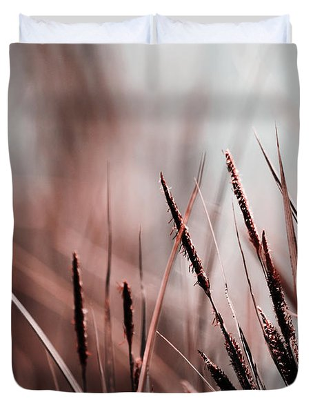 Luminis - S03a - Brown Duvet Cover by Variance Collections