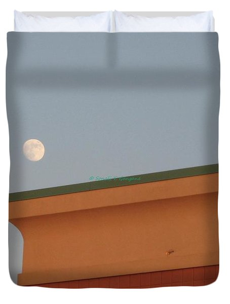 Lunar Perspective Duvet Cover by Sonali Gangane