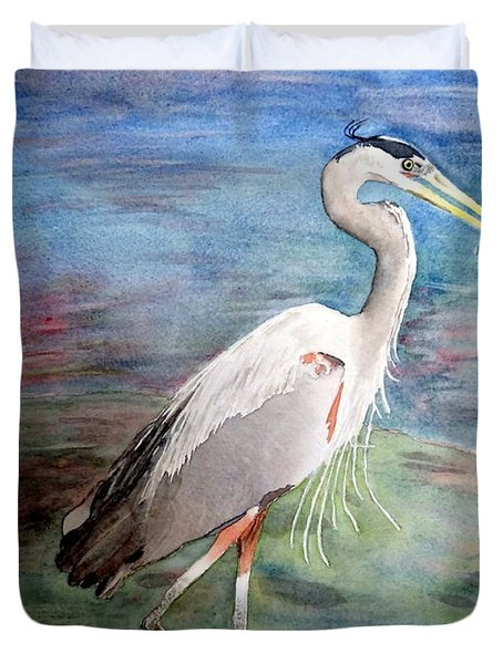 Lunchtime Watercolour Duvet Cover