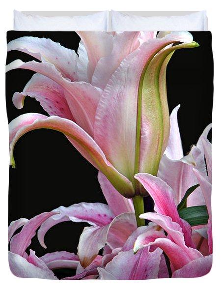 Luscious Lilies Duvet Cover