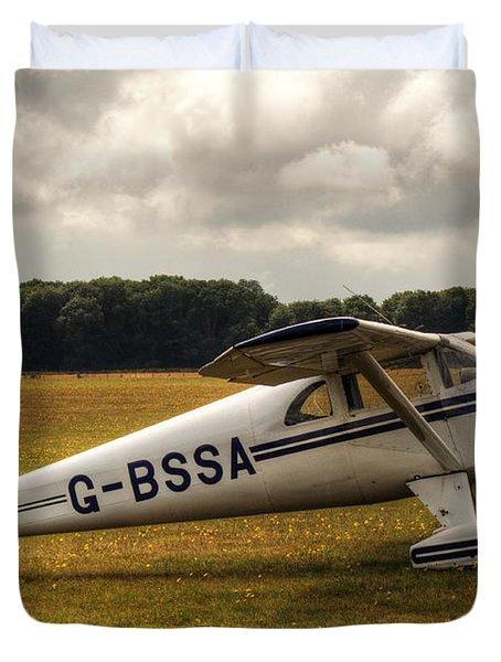 Luscombe 8e Deluxe 2 Seater Plane Duvet Cover
