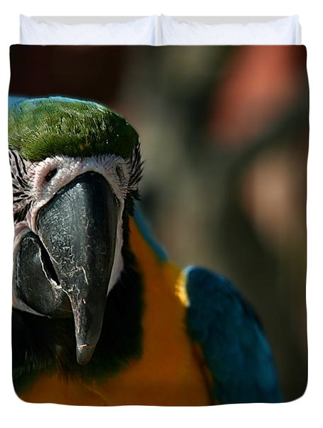Macaw Duvet Cover