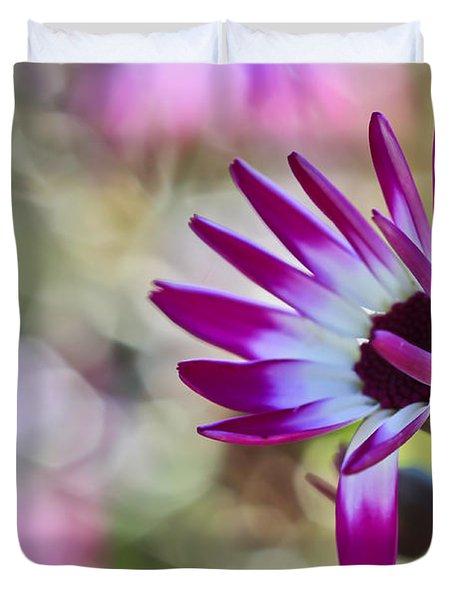 Magenta Duvet Cover by Heidi Smith