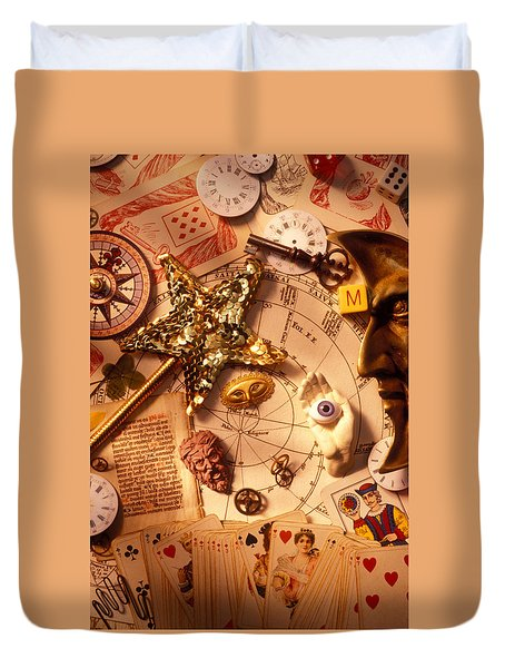 Magic And Mysticism  Duvet Cover by Garry Gay
