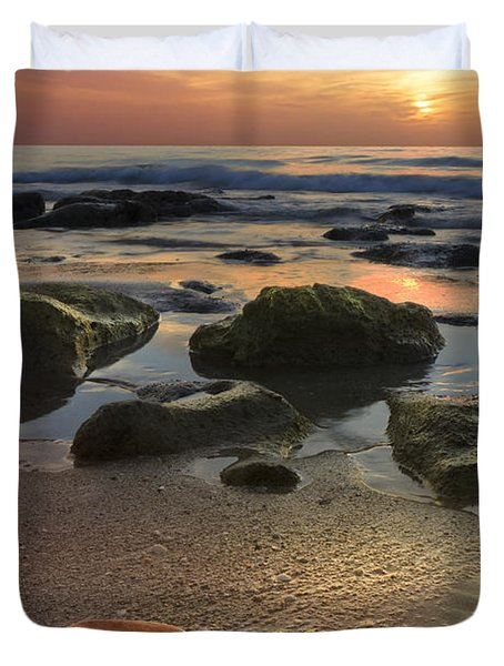 Magic Every Moment Duvet Cover by Debra and Dave Vanderlaan