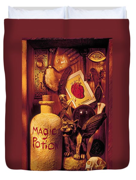 Magic Things Duvet Cover by Garry Gay