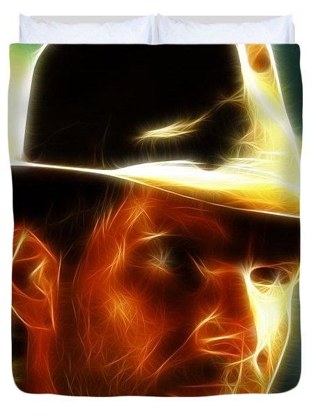Magical Indiana Jones Duvet Cover by Paul Van Scott