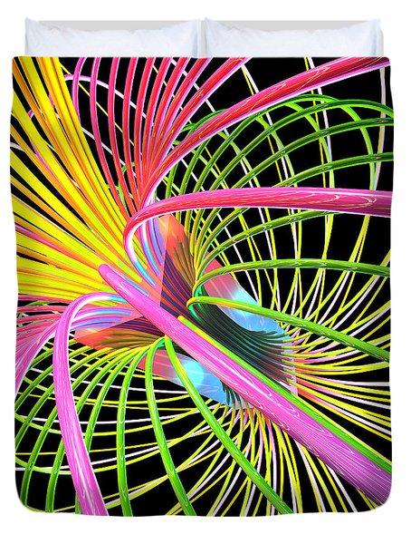 Magnetism 4 Duvet Cover