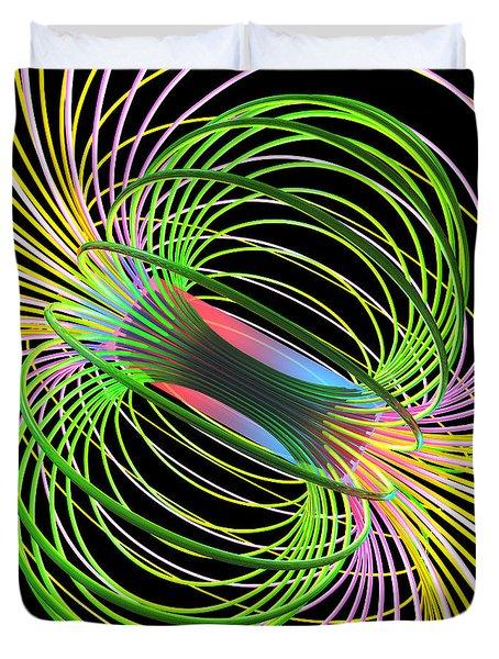 Magnetism 5 Duvet Cover