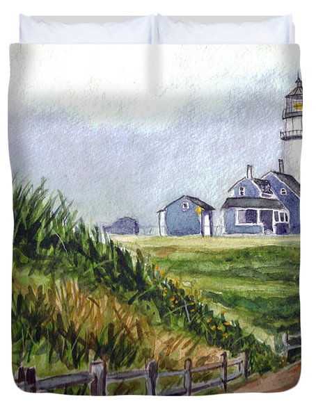 Maine Light Duvet Cover