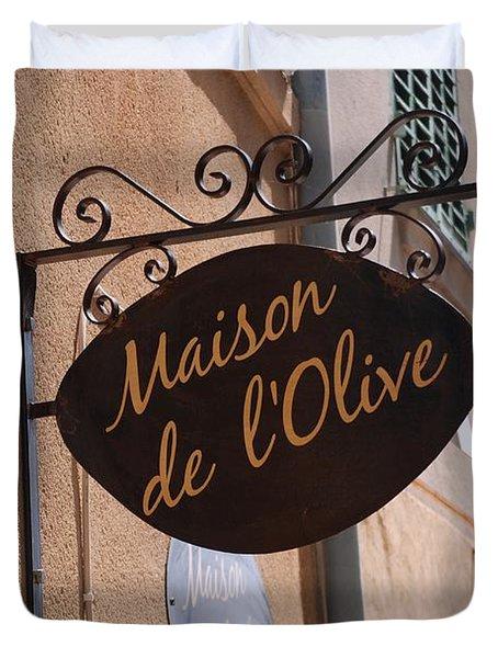 Maison De L'olive Duvet Cover by Dany Lison