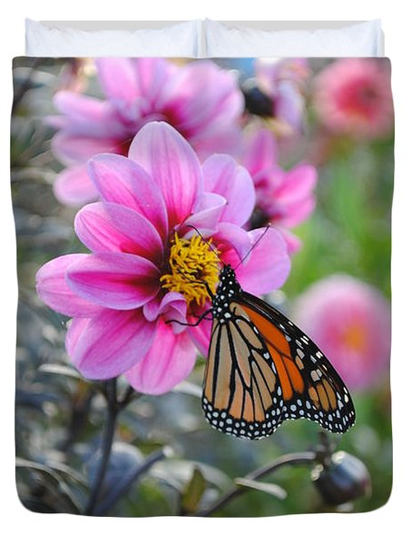 Duvet Cover featuring the photograph Making Things New by Michael Frank Jr