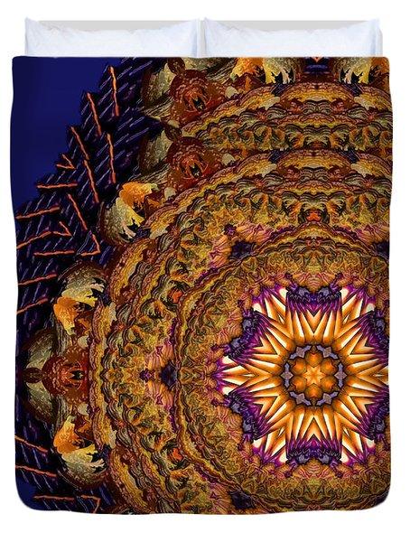 Mandala Of Pure Presence Duvet Cover