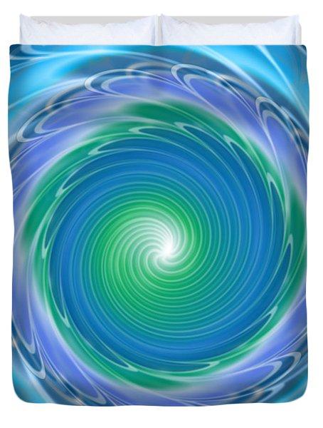 Mandala Spin Duvet Cover