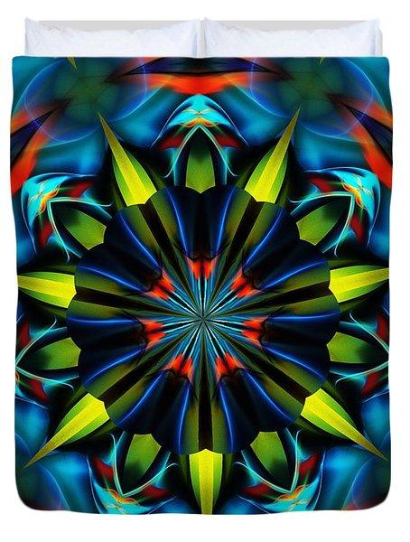 Mandela 102311 Duvet Cover by David Lane