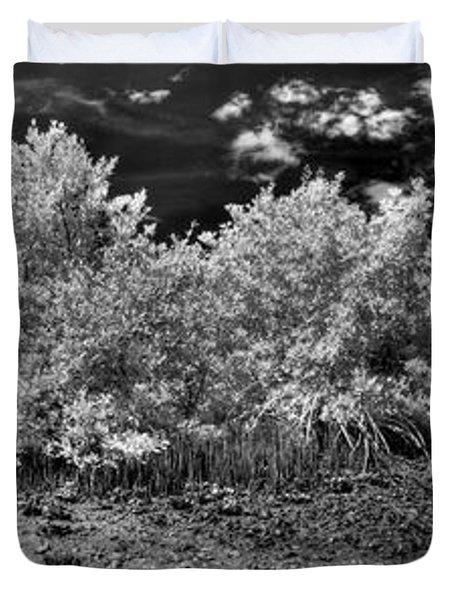 Mangove Island Duvet Cover by Nick  Shirghio