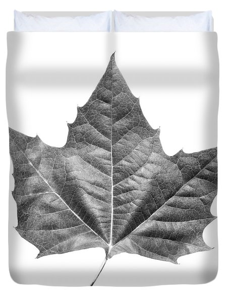 Maple Leaf Duvet Cover