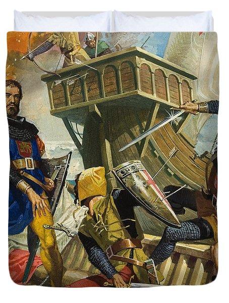 Marco Polo Duvet Cover by Severino Baraldi