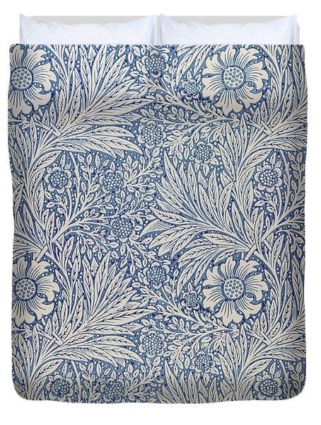 Marigold Wallpaper Design Duvet Cover by William Morris