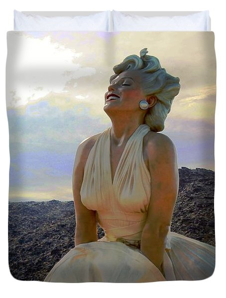 Marilyn's Euphoria Duvet Cover
