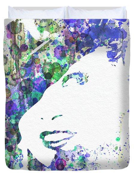 Marlene Dietrich Duvet Cover by Naxart Studio