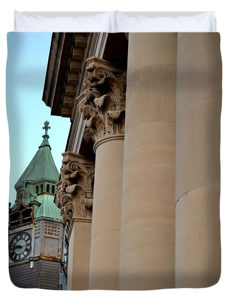 Marquette Architecture Duvet Cover