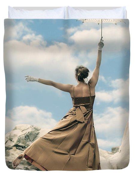 Mary Poppins Duvet Cover by Joana Kruse
