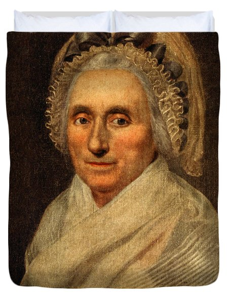 Mary Washington - First Lady  Duvet Cover by International  Images