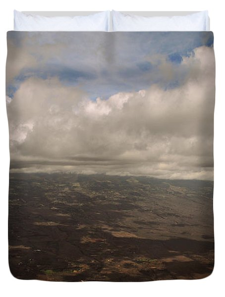 Maui Beneath The Clouds Duvet Cover by Paulette B Wright