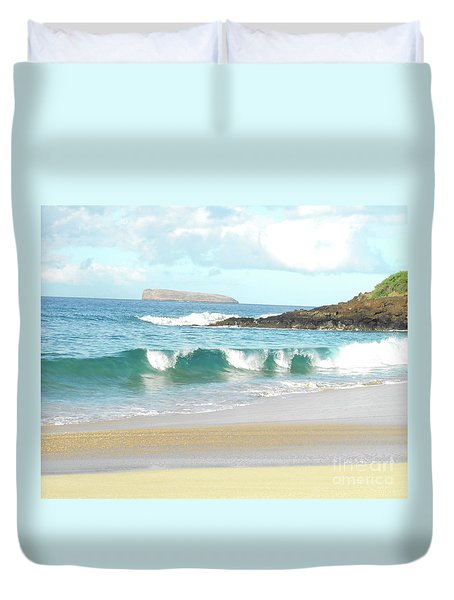 Maui Hawaii Beach Duvet Cover