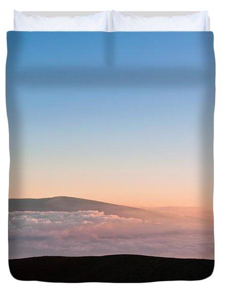 Mauna Loa Sunset Duvet Cover