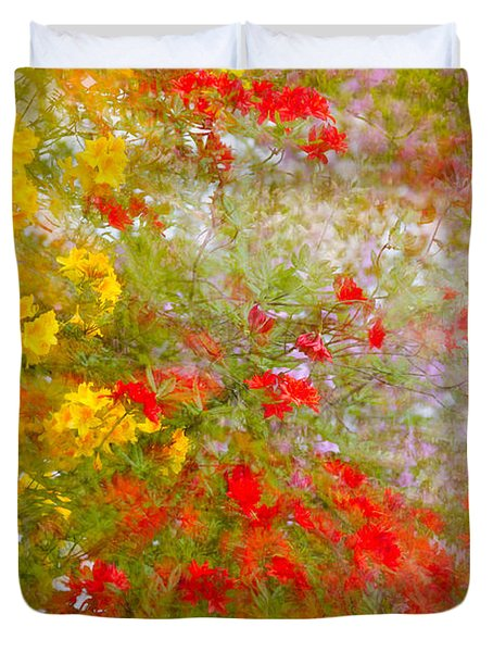 May Impression Duvet Cover by Bobbie Climer