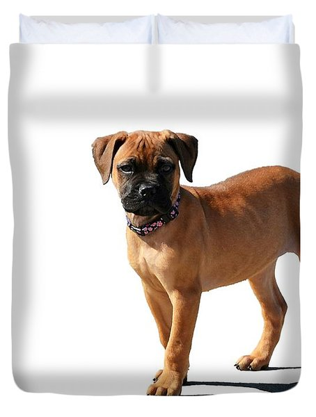 Me And My Shadow 2 Duvet Cover by Dale   Ford