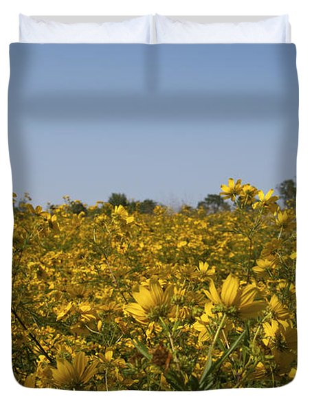 Meadow At Terapin Park Duvet Cover