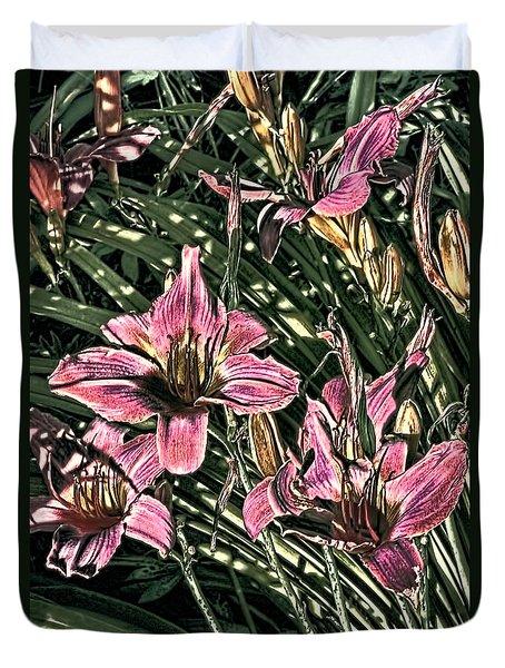 Meadow Sunrise Duvet Cover by Tom Prendergast