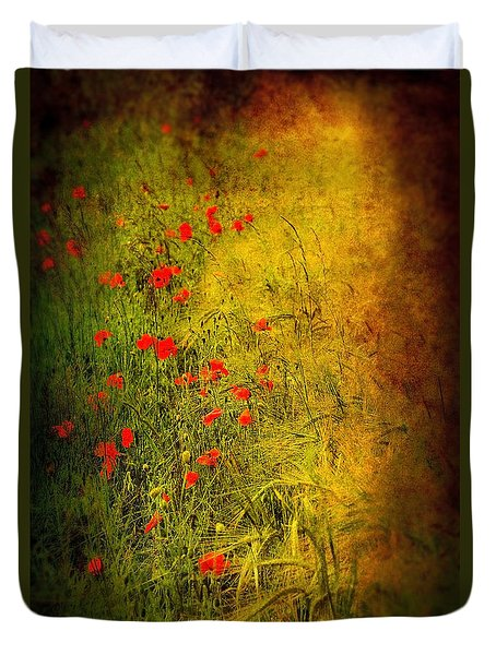 Meadow Duvet Cover by Svetlana Sewell