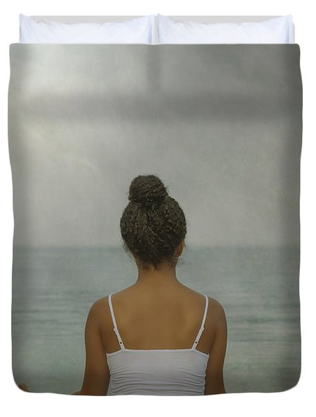 Meditation Duvet Cover by Joana Kruse