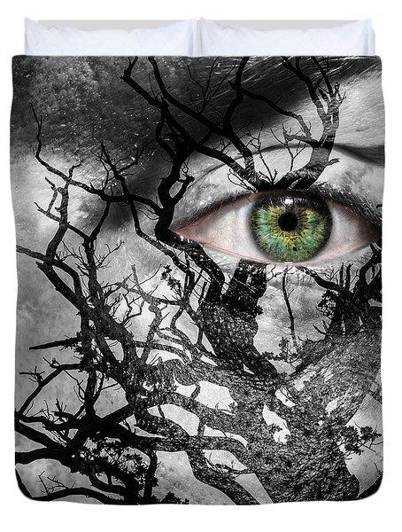 Medusa Tree Duvet Cover by Semmick Photo