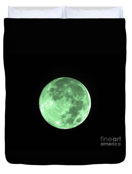 Melon Moon Duvet Cover by Al Powell Photography USA