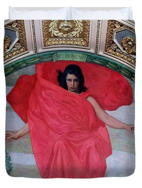 Melpomene - The Muse Duvet Cover