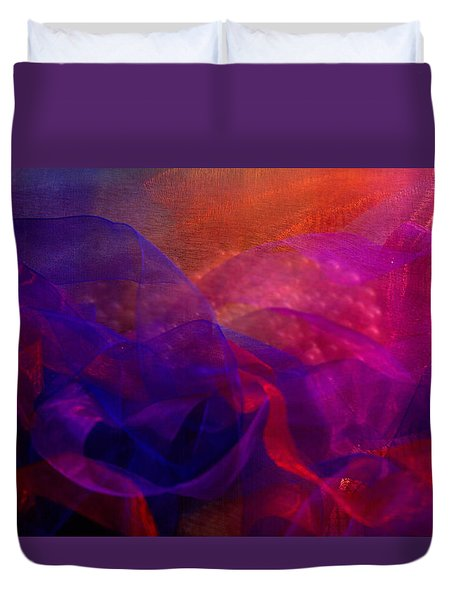Duvet Cover featuring the photograph Memories by Nareeta Martin