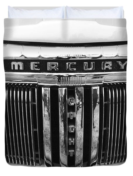 Mercury Grill  Duvet Cover by Kym Backland